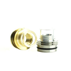 MLV Diamond Series Pyrex Glass Ultra Bore Drip Cap