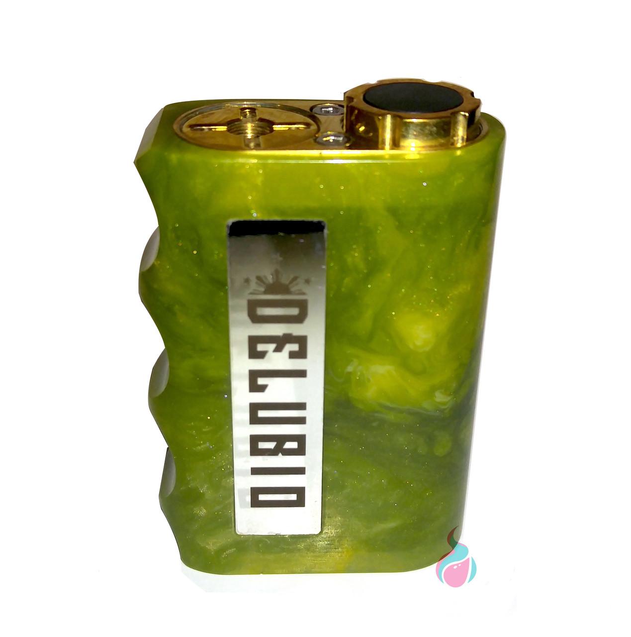 Delubio Series Box Mod By Silver Wolf Customs - Ultra Vapor Bar