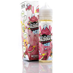 Watermelon ICE Sour Straws Bazooka 60ml