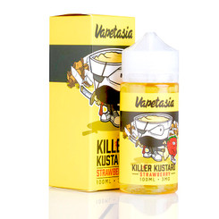 Killer Kustard Strawberry 100ml - Vapetasia