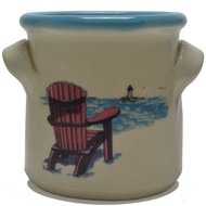 Small Crock - Adirondack Chair