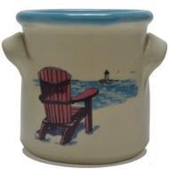 Small Crock - Adirondack Chair