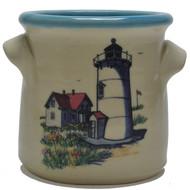 Small Crock - Lighthouse