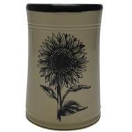 Utensil Holder - Sunflower