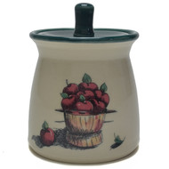 Sugar Jar - Apple Basket - Apples are one reason fall is the best season of the year for many; from the sweet smell of apple pies, to hand picking memories.