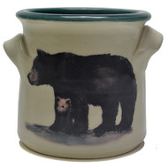 Small Crock -Black Bear
