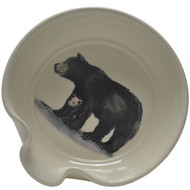 Spoon Rest - Black Bear