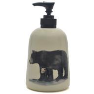 Soap Dispenser - Black Bear