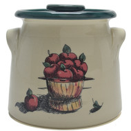 Bean Pot, 2 QT - Apple Basket - Apples are one reason fall is the best season of the year for many; from the sweet smell of apple pies, to hand picking memories.