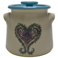 Bean Pot, 2 QT - Heart - The heart symbolizes the center of your thoughts and emotions, especially love.