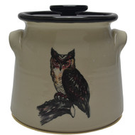 Bean Pot, 2 QT - Owl -   Much like the wise old owl  sit quiet and enjoy your surroundings.