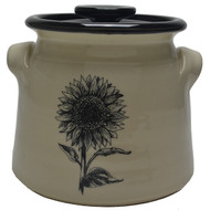 Bean Pot, 2 QT - Sunflower