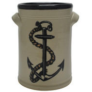 Wine Chiller - Anchor - The anchor is symbolic of hope in how when lifted up from the water of a port, it represents a new adventure, a new voyage