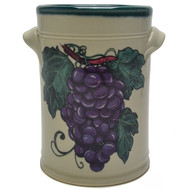 Wine Chiller - Grapes - Common symbolic meanings for grapes include charity, wrath and abundance. ...