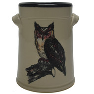 Wine Chiller - Owl -  Much like the wise old owl  sit quiet and enjoy your surroundings.