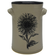 "Wine Chiller - Sunflower - Sunflowers are the symbol of faith, loyalty and adoration. Sunflowers are known for being ""happy"" flowers, making them the perfect gift to bring joy to someone's (or your) day."