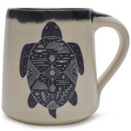 Coffee Mug  14 oz - Cosmic Turtle