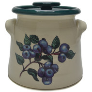 Bean Pot, 2 QT - Blueberries