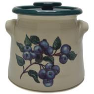 Bean Pot, 2 QT - Blueberries