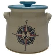 Bean Pot, 2 QT - Compass Rose