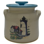 Bean Pot, 2 QT - Lighthouse