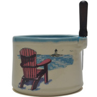 Dip Bowl with Spreader Knife - Adirondack Chair