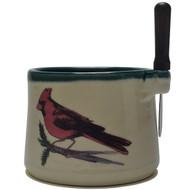 Dip Bowl with Spreader Knife - Cardinal