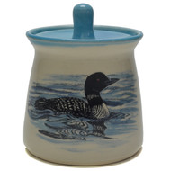 Sugar Jar -Loons are water birds, a symbol of wilderness