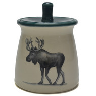 Sugar Jar - Moose - The moose spirit animal signifies strength, pride, and life. ...Be inspired by the moose who's clumsy and graceful and strange and breathtaking at the same time