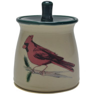 Sugar Jar - Cardinal A cardinal is a representative of a loved one who has passed. When you see one, it means they are visiting you.-