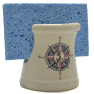 Sponge Holder - Compass Rose