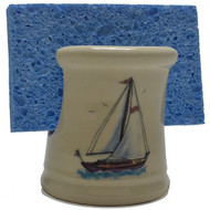 Sponge Holder - Sailboat