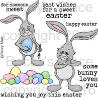 Sweet Easter digital stamps