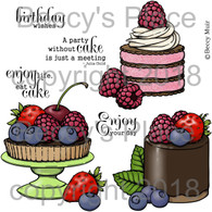 Just Desserts digital stamps