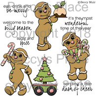 Sugar and Spice digital stamps