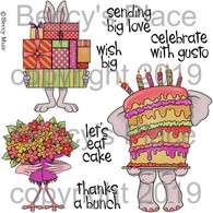 Big Wishes digital stamps