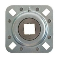 Square Bore Flanged Disc Bearings