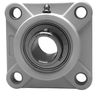 "1-7/16"" Stainless Steel Thermoplastic Four Bolt Flange Bearing SSUCF207-23-TP"