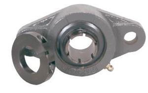"1-1/2"" Concentric Locking 2 Bolt Flange Bearing UEFL208-24 Image"