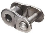 Stainless 40 Roller Chain Offset Link Image