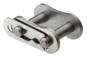 Stainless 40 Roller Chain Connecting Link Image