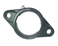 FL207 Two Bolt Flange Housing For 72MM OD Bearings
