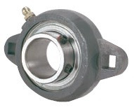 "1-1/8"" Ductile Iron Two Bolt Flange Bearing SBFTD206-18G Image"
