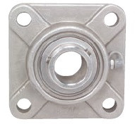 "1-7/16"" Stainless Steel Four Bolt Flange Bearing SSUCF207-23 Image"
