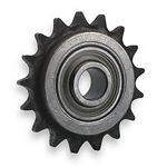 17 Tooth Steel Idler Sprocket for #40 Roller Chain
