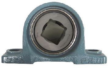"1-1/4"" Square Disc Harrow Pillow Block Bearing Image"