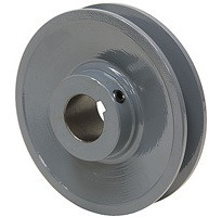"4.95"" A and B Belt Industrial Pulley Image"