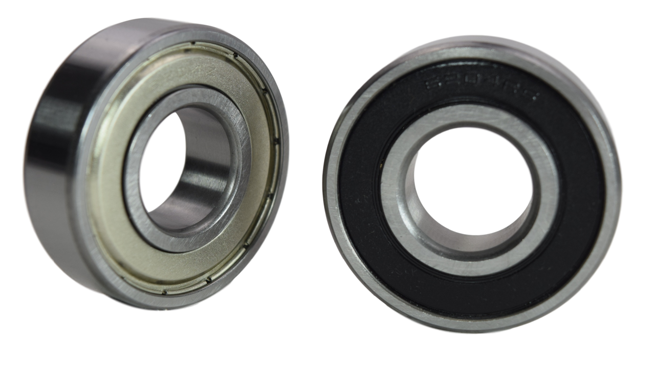 6204-2RS 6204-ZZ Radial Ball Bearing 20X47X14 Image