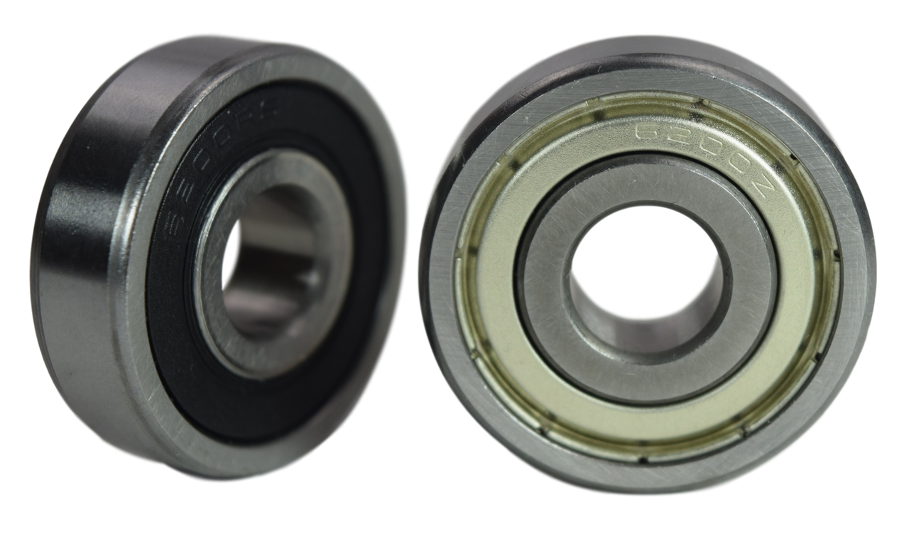 6200-2RS 6200-ZZ Radial Ball Bearing 10X30X9 Image