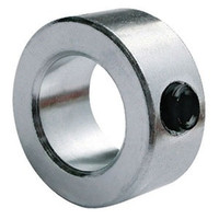 "1-1/8"" Zinc Plated Solid Shaft Collar"